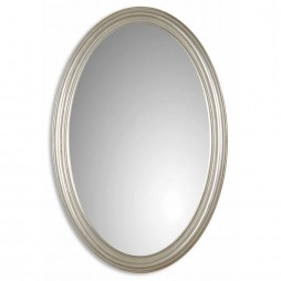 Uttermost Franklin Oval Silver Mirror 08601 P