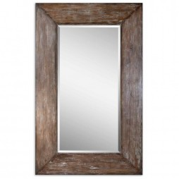 Langford Large Wood Mirror 9505
