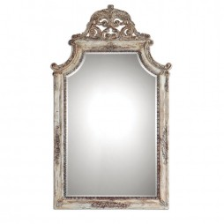 Portici Antique Ivory Mirror 9516