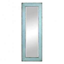 Chasity Light Blue Leaner Mirror 9523