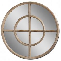 Eliseo Reclaimed Wood Mirror 09901