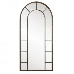 Dillingham Black Arch Mirror 10505