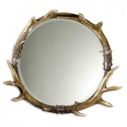 Uttermost Stag Horn Mirror 11556 B