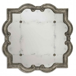 Prisca Distressed Silver Mirror 12557 P