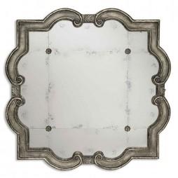 Prisca Distressed Silver Mirror 12557 P