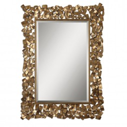 Capulin Antique Gold Mirror 12816