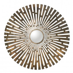 Tremeca Brass Starburst Mirror 12846