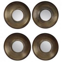 Tondela Round Mirrors Set/4 12858