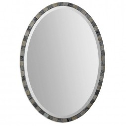 Paredes Oval Mosaic Mirror 12859