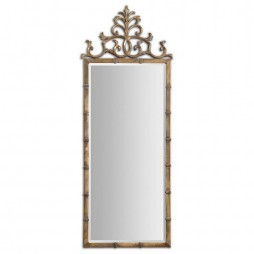 Vittoria Gold Metal Mirror 12884