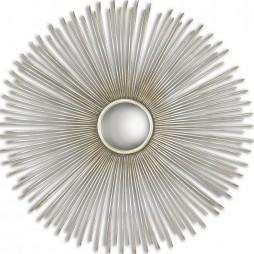 Launa Round Silver Mirror 12888