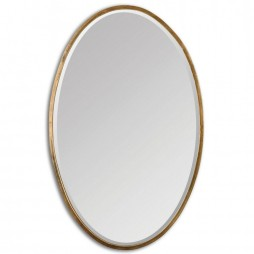 Herleva Gold Oval Mirror 12894