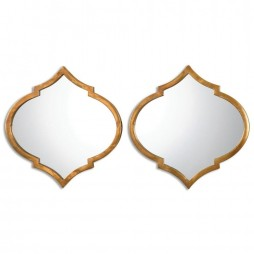Jebel Antique Gold Mirrors