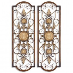 Micayla Antique Metal Panels