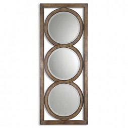 Isandro Metal Silver Mirror 13533 B