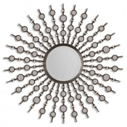 Kimani Antique Silver Mirror 13581 B