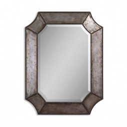 Elliot Distressed Aluminum Mirror 13628 B