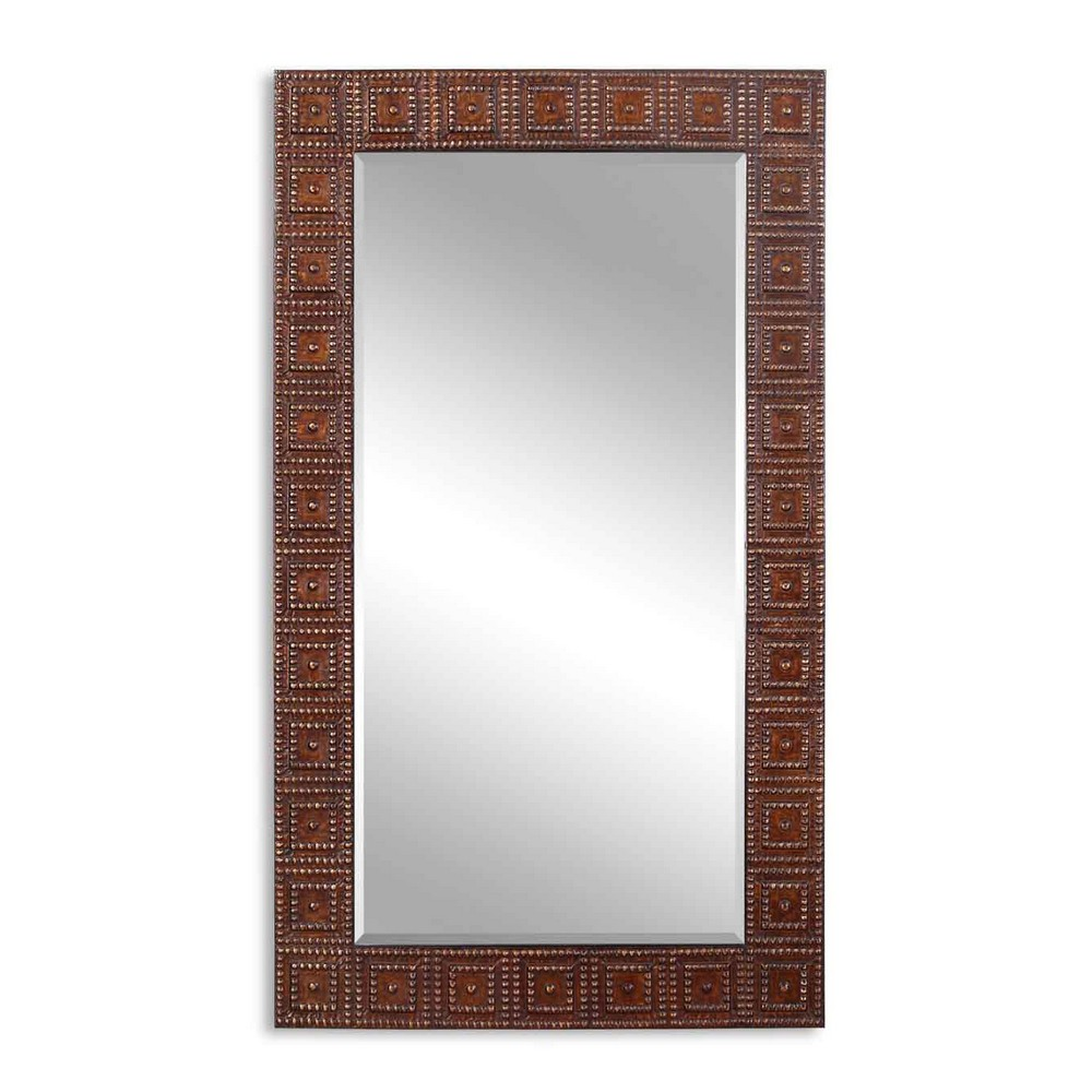 Mirrors uttermost adel oversized bronze mirror 13646 for Oversized mirror