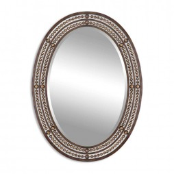 Matney Distressed Bronze Mirror 13716