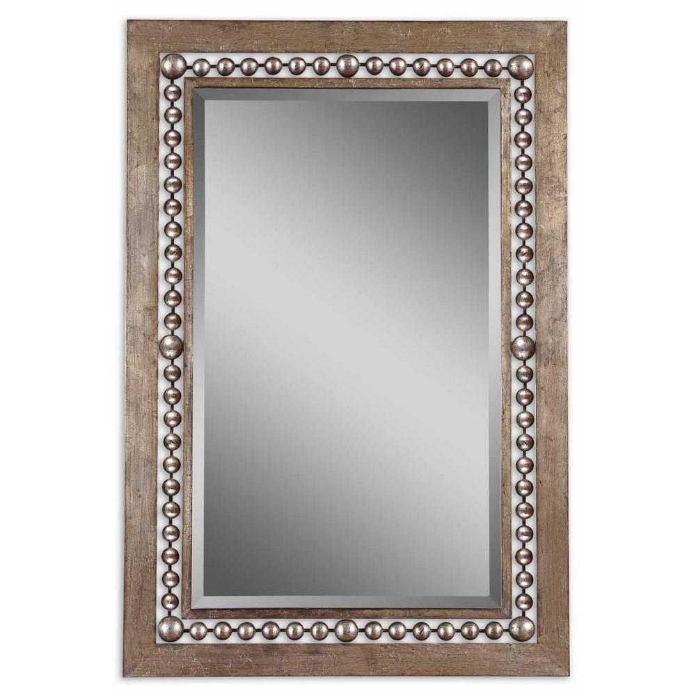 Mirrors - Uttermost Fidda Antique Silver Mirror 13724