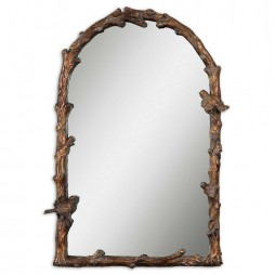 Paza Antique Gold Arch Mirror 13774