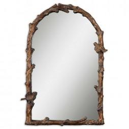 Paza Antique Gold Arch Mirror 13774