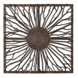 Josiah Square Wooden Wall Art 13777