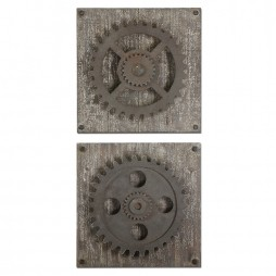 Rustic Gears Wall Art