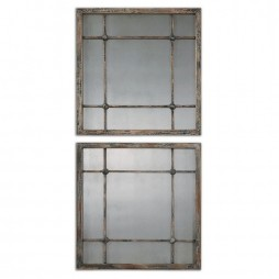 Saragano Square Mirrors Set/2 13845