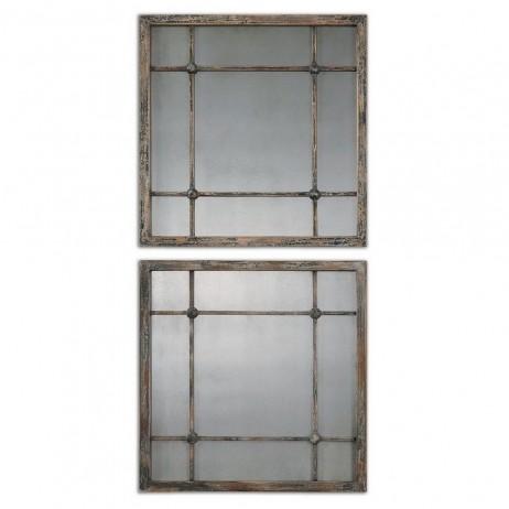 Saragano Square Mirrors Set/2 13845