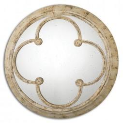 Livianus Round Metal Mirror 13884