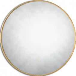 Junius Round Gold Mirror 13887