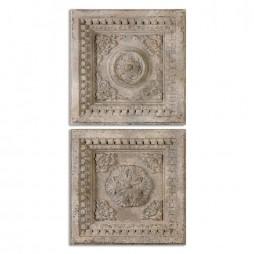 Auronzo Aged Ivory Squares