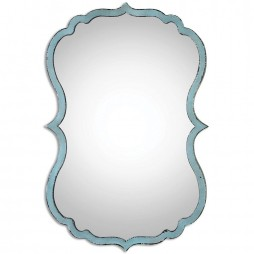 Nicola Light Blue Mirror 13925