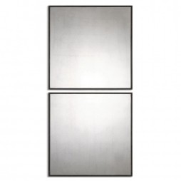 Matty Antiqued Square Mirrors