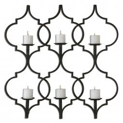 Zakaria Metal Candle Wall Sconce 13998
