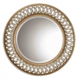 Entwined Antique Gold Mirror 14028 B