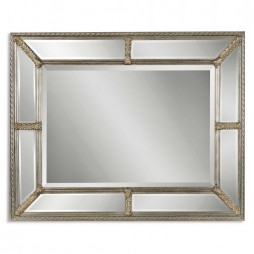 Lucinda Antique Silver Mirror 14048 B