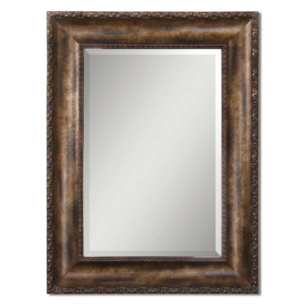 Mirrors Uttermost Leola Antique Bronze Mirror 14441 B