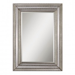 Seymour Antique Silver Mirror 14465