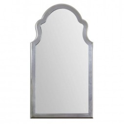 Brayden Arched Silver Mirror 14479