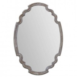 Ludovica Aged Wood Mirror 14483