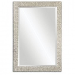 Porcius Antiqued Silver Mirror 14495