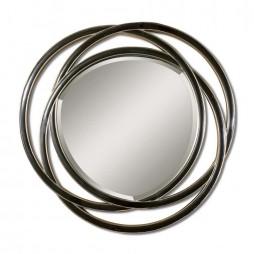 Odalis Entwined Circles Black Mirror 14522 B