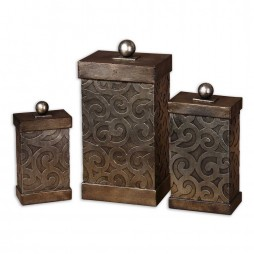 Nera Metal Decorative Boxes