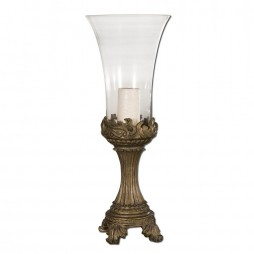 Rococo Golden Hurricane Candleholder 19475
