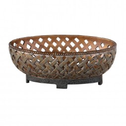 Teneh Lattice Weave Design Bowl 19539