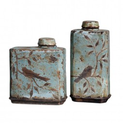 Freya Light Sky Blue Containers
