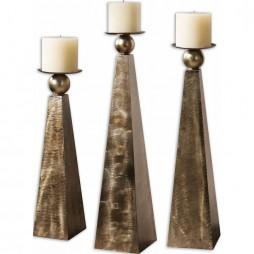 Cesano Bronze Candleholders