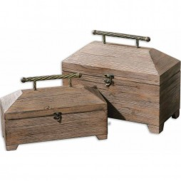 Tadao Natural Wood Boxes